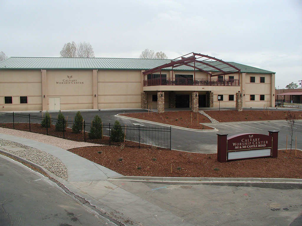 picture of calvary-worship-center built by Merritt General Contractors